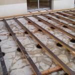 terrasse en bois composite sur dalle beton 3