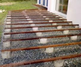 terrasse bois lambourde 1