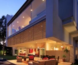 terrasse couverte contemporaine 1
