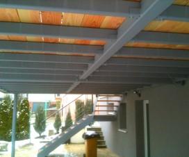terrasse suspendue en fer 1