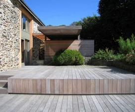 terrasse bois haut de gamme 1