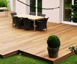 terrasse milieu jardin. Black Bedroom Furniture Sets. Home Design Ideas
