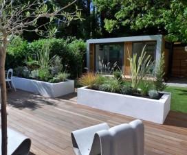 terrasse bois composite jardin 1