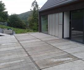 terrasse bois de coffrage 1