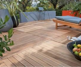terrasse bois kit leroy merlin. Black Bedroom Furniture Sets. Home Design Ideas
