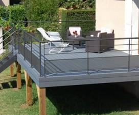 Terrasse jardin maison - Terrasse en composite avis ...