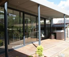terrasse couverte en zinc 1