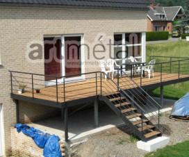 terrasse bois composite gris anthracite. Black Bedroom Furniture Sets. Home Design Ideas