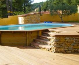 terrasse bois autour d une piscine hors sol 1