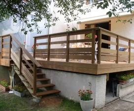 terrasse bois composite hauteur 1