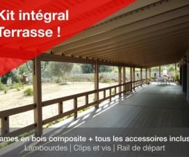 terrasse bois composite kit 1