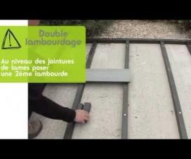 terrasse bois composite sur dalle beton 1