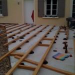 terrasse bois sur plot 5