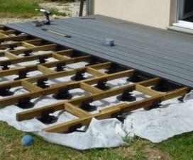 terrasse composite montage 1