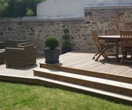 terrasse bois jardin 1