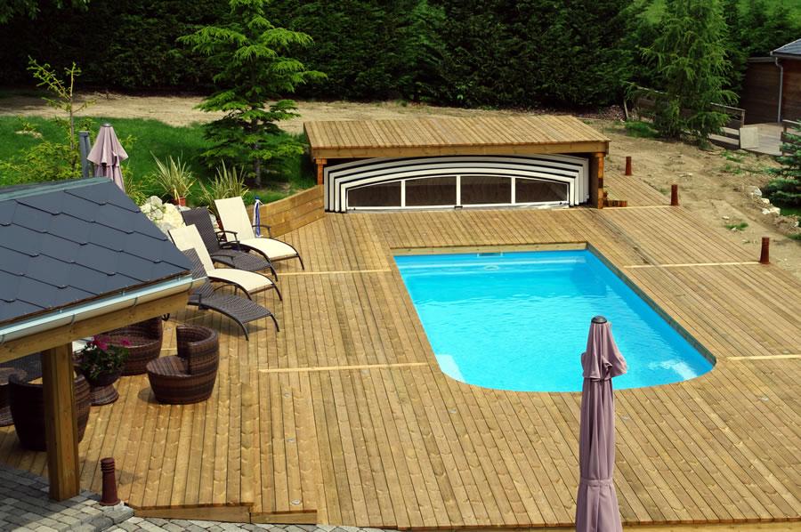 Terrasse bois piscine - Terrasse bois piscine hors sol ...