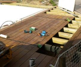 terrasse bois pose 1