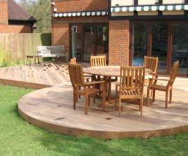 terrasse bois ronde 1