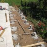 terrasse bois plot beton 2