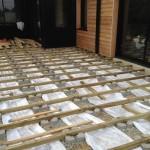 terrasse bois plot beton 6