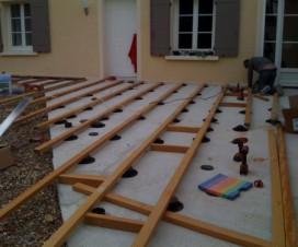 terrasse bois sans dalle 1