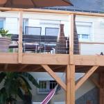 terrasse bois suspendue photo 2