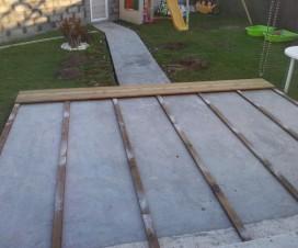 terrasse bois sur dalle beton 1