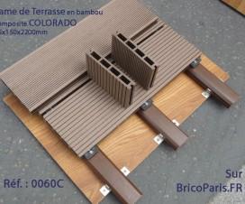 Lame de Terrasse en bambou composite COLORADO