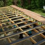 terrasse composite en hauteur 1