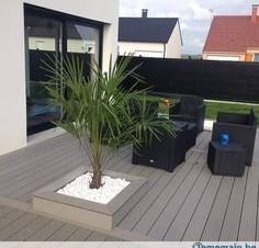 Terrasse bois composite pour piscine - Terrasse composite prix usine ...