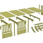 terrasse bois mobil home 1