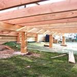 terrasse bois mobil home 3