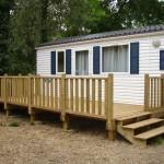 terrasse bois mobil home 4