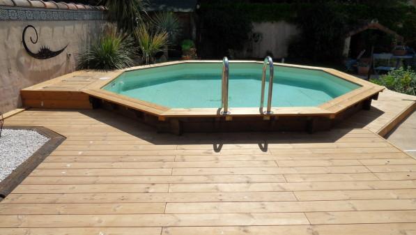 terrasse avec piscine en bois 3