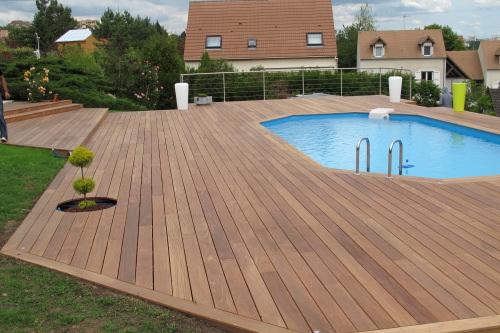 terrasse avec piscine en bois 5