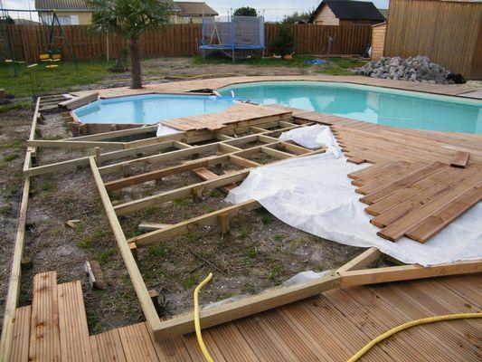terrasse avec piscine en bois 6